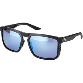 100% Renshaw Lunettes, matte black/hiper multilayer mirror